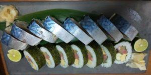 アワジシマ日々喜肉厚鯖棒寿司