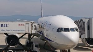 ANA飛行機1