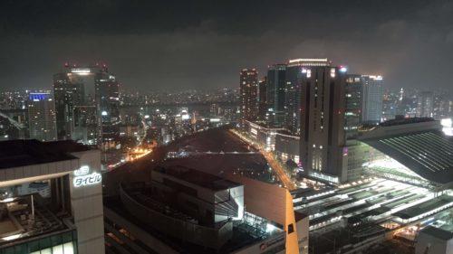 夜景リッツカールトン大阪より
