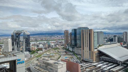 リッツカールトン大阪景色