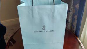 リッツカールトン大阪紙袋