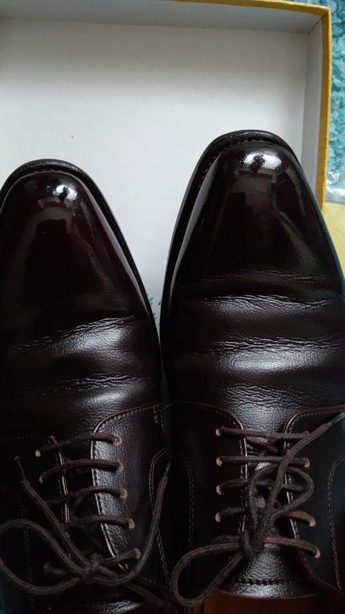 Burnishぴかぴか靴
