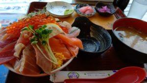 大ばんぶる舞日替わり定食海鮮丼