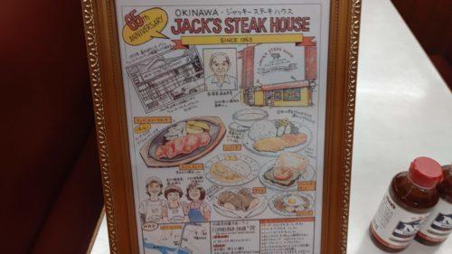 ジャッキーステーキハウス額