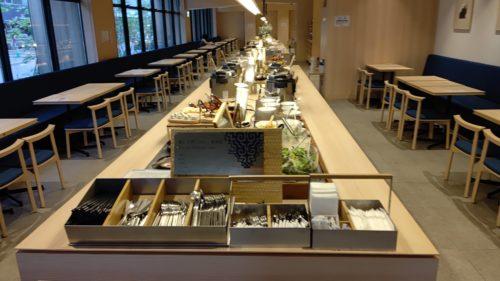 ベッセルホテルカンパーナすすきの朝食会場12
