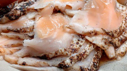 ベッセルホテルカンパーナすすきの朝食刺身