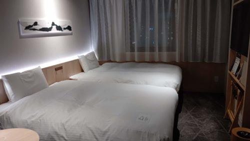 ベッセルホテルカンパーナすすきのベッド