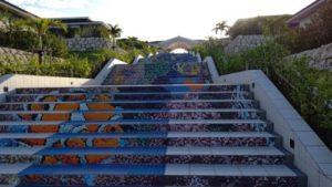 来間島階段