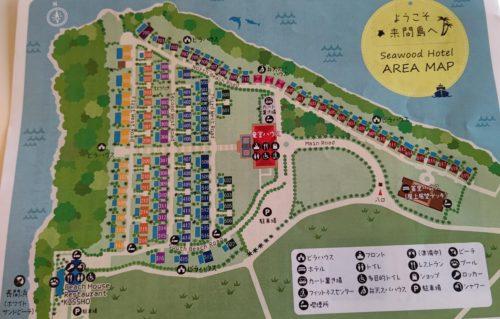 シーウッドホテル地図