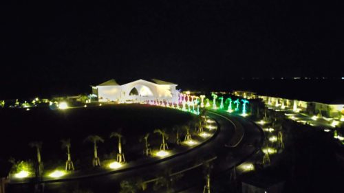 夜の展望台