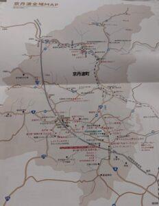 京丹波地図