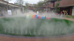 夙川グリーンプレイス噴水最大
